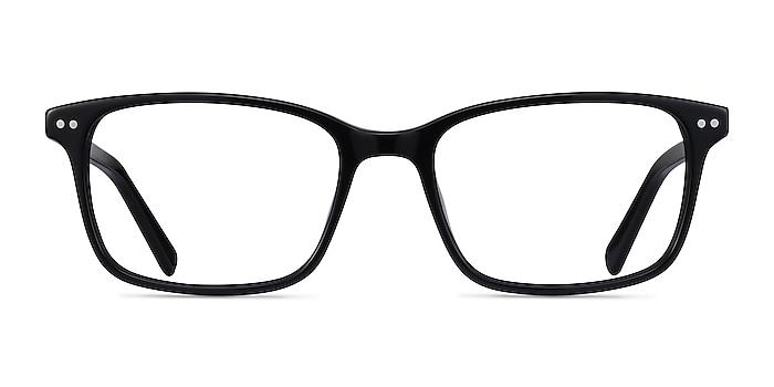 Basel Black Acetate Eyeglass Frames from EyeBuyDirect