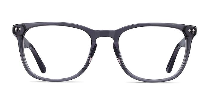 Gato Gray Acetate Eyeglass Frames from EyeBuyDirect