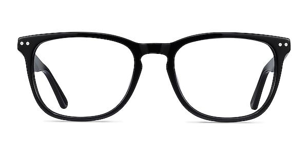 Gato Black Acetate Eyeglass Frames