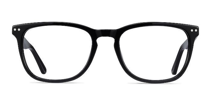 Gato Black Acetate Eyeglass Frames from EyeBuyDirect