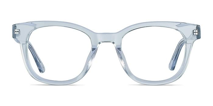 Lighthouse Clear Blue Acétate Montures de lunettes de vue d'EyeBuyDirect