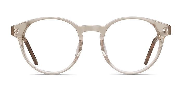 Manara Champagne Acetate Eyeglass Frames from EyeBuyDirect