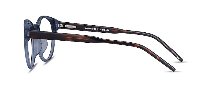 Manara Blue Gray Acetate Eyeglass Frames from EyeBuyDirect