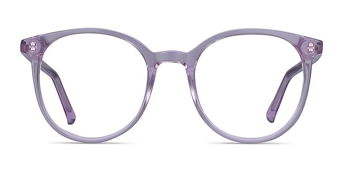 Noun Purple Acetate Eyeglass Frames from EyeBuyDirect