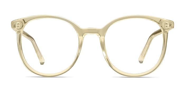 Noun Yellow Acetate Eyeglass Frames from EyeBuyDirect