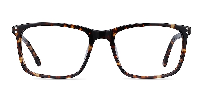 Connect Tortoise Acetate Eyeglass Frames from EyeBuyDirect
