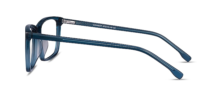 Connect Green blue Acetate Eyeglass Frames from EyeBuyDirect