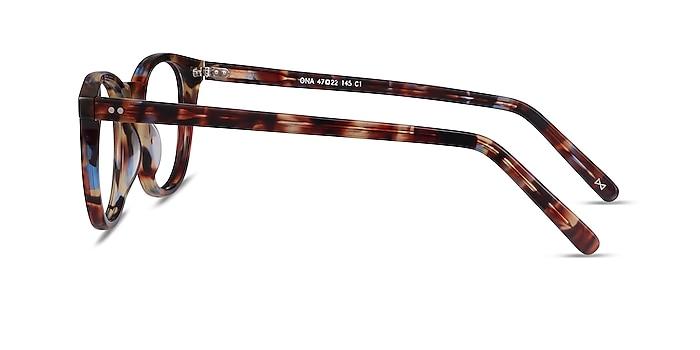 Ona Nebular Blue Acetate Eyeglass Frames from EyeBuyDirect