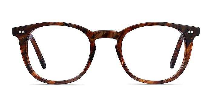 Ona Marbled Havana Acetate Eyeglass Frames from EyeBuyDirect