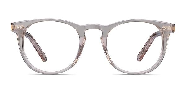 Ona Champagne Acetate Eyeglass Frames