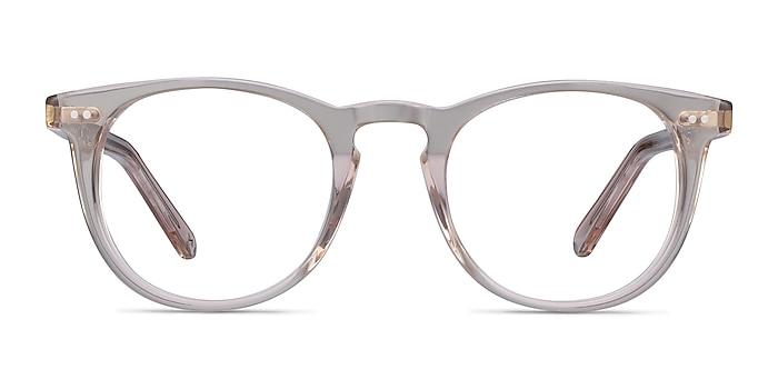 Ona Champagne Acetate Eyeglass Frames from EyeBuyDirect