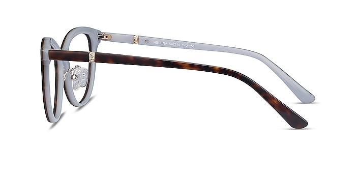 Helena Tortoise Acetate Eyeglass Frames from EyeBuyDirect