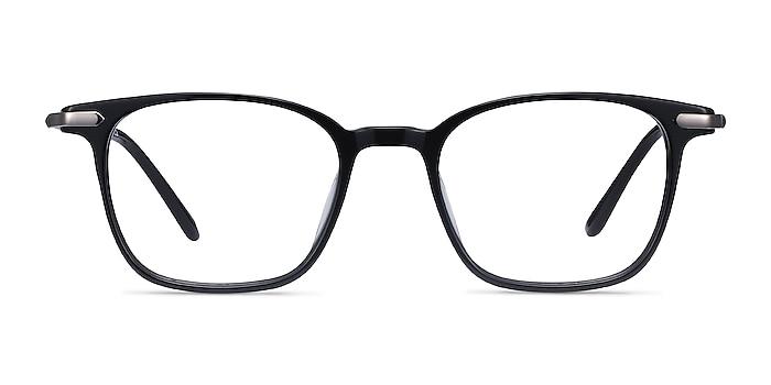 Cinema Black Acetate Eyeglass Frames from EyeBuyDirect