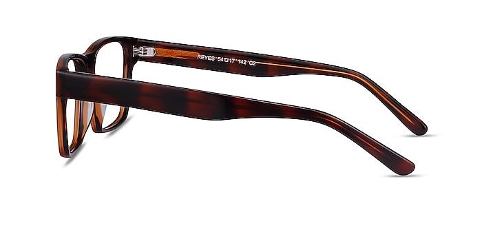 Reyes Brown Acetate Eyeglass Frames from EyeBuyDirect