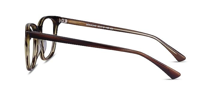 Seasons Tortoise Acetate Eyeglass Frames from EyeBuyDirect