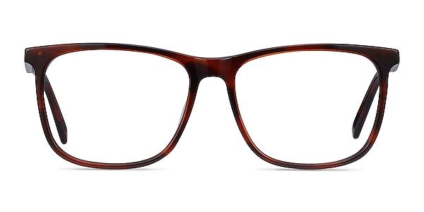 Mezzanine Brown Acetate Eyeglass Frames