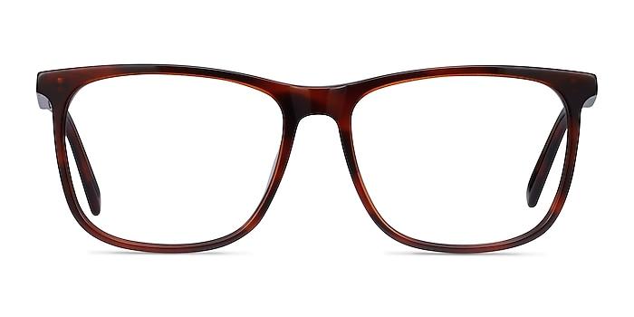 Mezzanine Marron Acétate Montures de lunettes de vue d'EyeBuyDirect