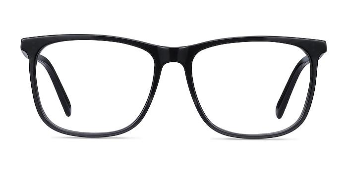 Mezzanine Gray Acetate Eyeglass Frames from EyeBuyDirect