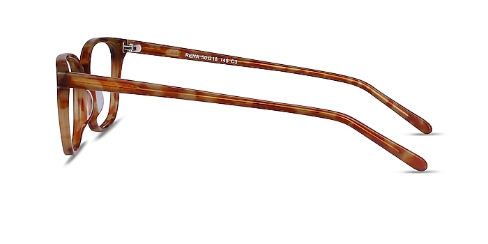 Rena Light Tortoise Acetate Eyeglass Frames from EyeBuyDirect