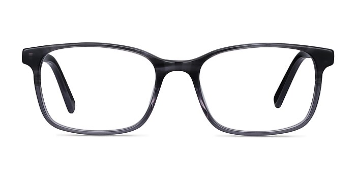 Collective Gray Acetate Eyeglass Frames from EyeBuyDirect