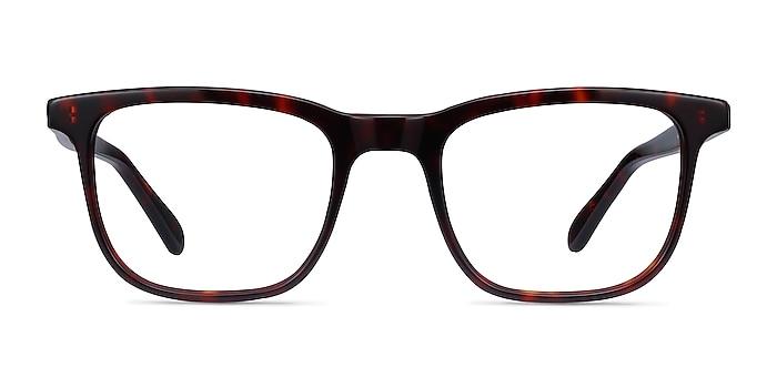 Ville Tortoise Acetate Eyeglass Frames from EyeBuyDirect