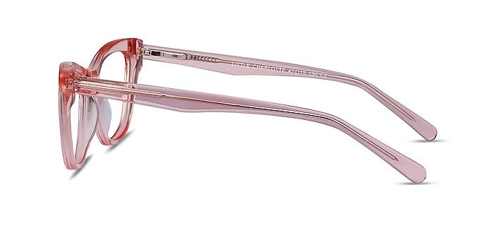 Little Charlotte Pink Acetate Eyeglass Frames from EyeBuyDirect