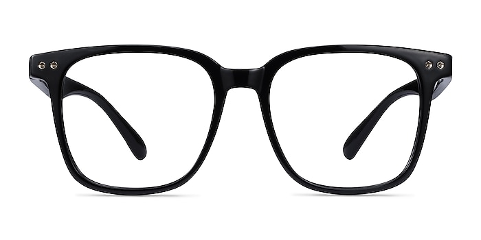 Piano Black Plastic Eyeglass Frames from EyeBuyDirect