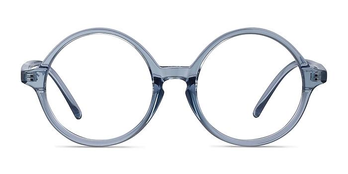 Little Years Bleu Plastique Montures de lunettes de vue d'EyeBuyDirect