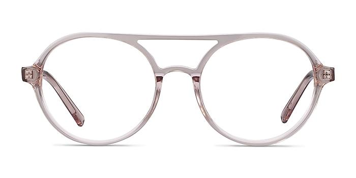 Elevate Clear Pink Acétate Montures de lunettes de vue d'EyeBuyDirect