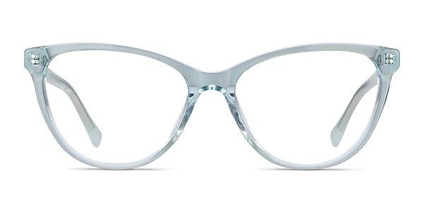 Sing Clear Blue Acetate Eyeglass Frames