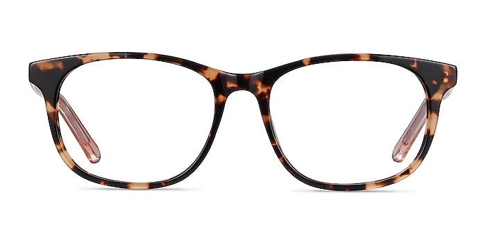 Steps Tortoise Acetate Eyeglass Frames from EyeBuyDirect