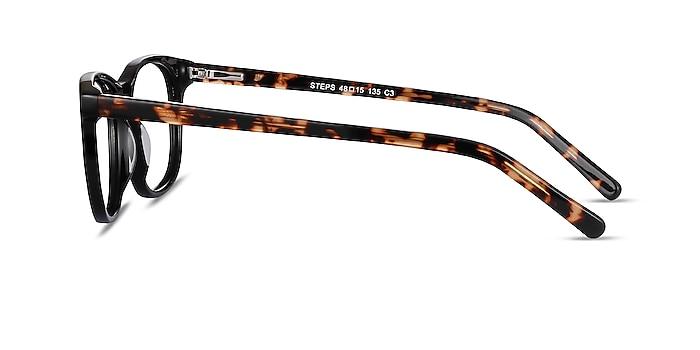 Steps Black Acetate Eyeglass Frames from EyeBuyDirect