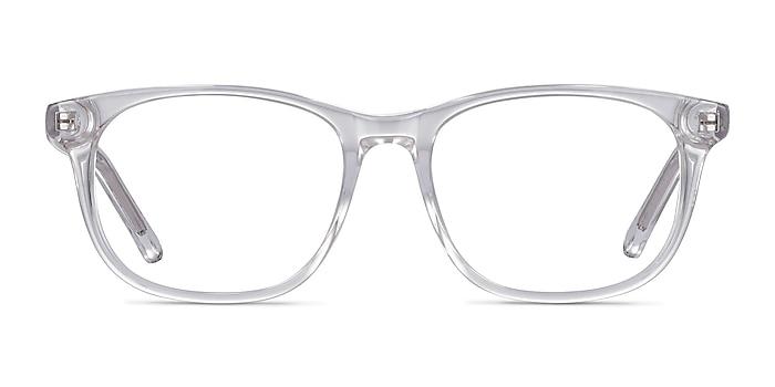 Steps Clear Acetate Eyeglass Frames from EyeBuyDirect