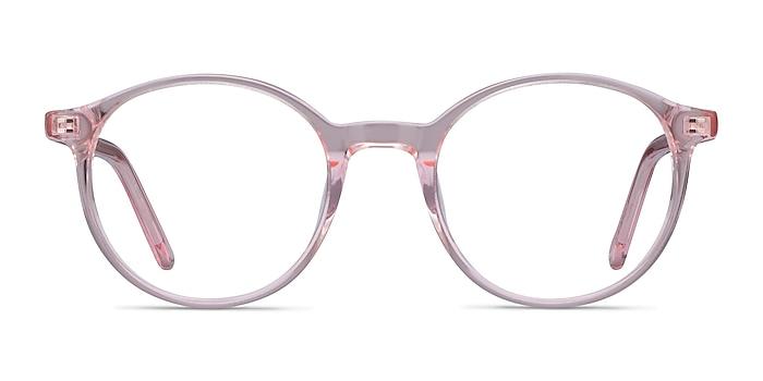 Excel Pink Acetate Eyeglass Frames from EyeBuyDirect