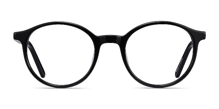 Excel Noir Acétate Montures de lunettes de vue d'EyeBuyDirect