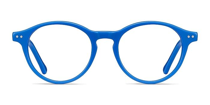 Magic Blue Acetate Eyeglass Frames from EyeBuyDirect