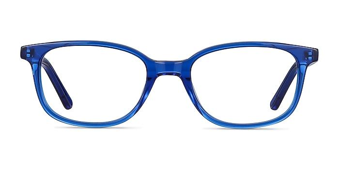 Leap Bleu Acétate Montures de lunettes de vue d'EyeBuyDirect