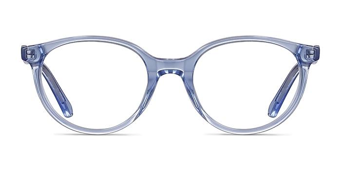 Trust Clear Blue Acetate Eyeglass Frames from EyeBuyDirect