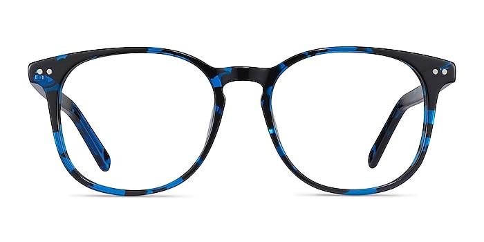 Ander Blue Tortoise Acetate Eyeglass Frames from EyeBuyDirect