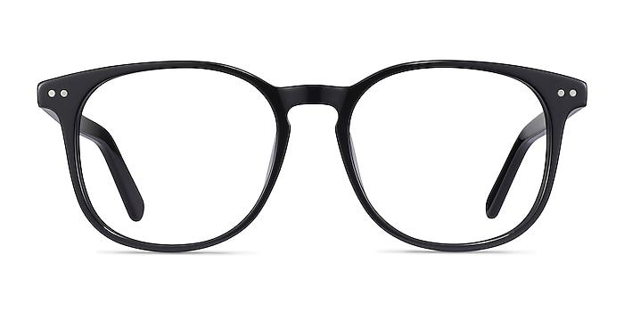 Ander Black Acetate Eyeglass Frames from EyeBuyDirect