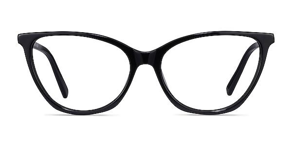 Instinct Black Acetate Eyeglass Frames
