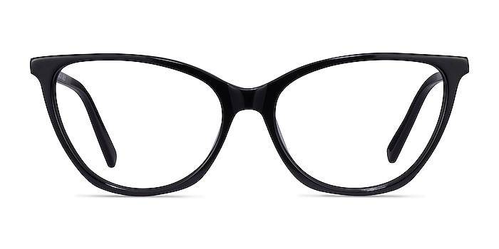 Instinct Noir Acétate Montures de lunettes de vue d'EyeBuyDirect