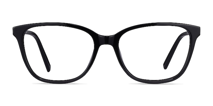 Arte Black Acetate Eyeglass Frames from EyeBuyDirect