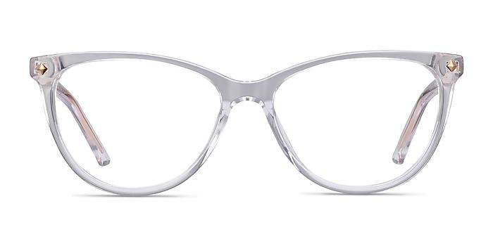 Leonie Clear Acetate Eyeglass Frames from EyeBuyDirect