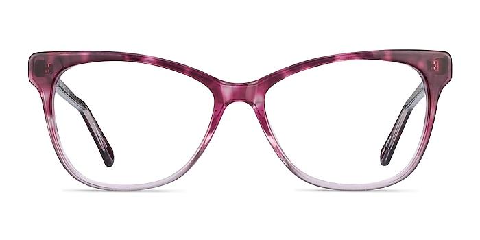 Rosalie Pink Acetate Eyeglass Frames from EyeBuyDirect