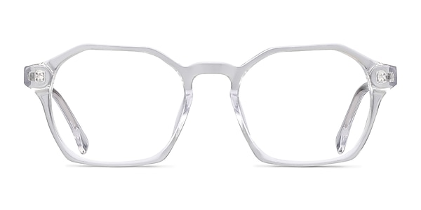 Orchid Clear Acetate Eyeglass Frames