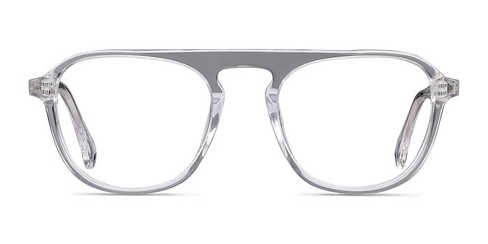 Ida Clear Acetate Eyeglass Frames from EyeBuyDirect