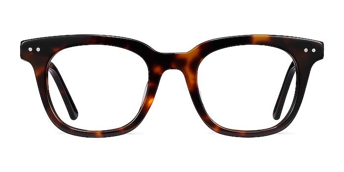 Romy Tortoise Acetate Eyeglass Frames from EyeBuyDirect