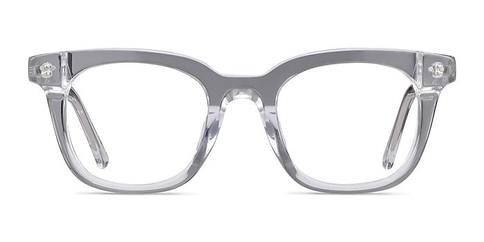 Romy Clear Acetate Eyeglass Frames from EyeBuyDirect