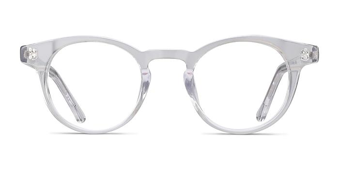 Flora Clear Acetate Eyeglass Frames from EyeBuyDirect